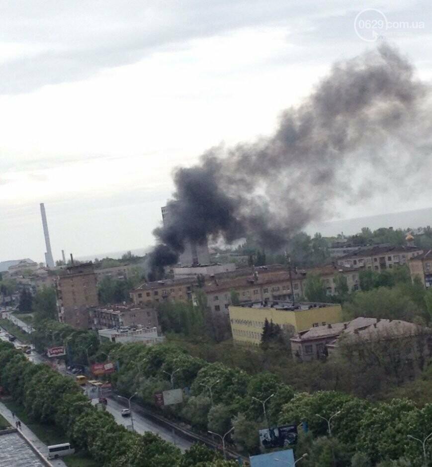 Здание Мариупольского горсовета взяли в оцепление