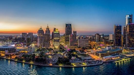 Детройт, Мичиган
