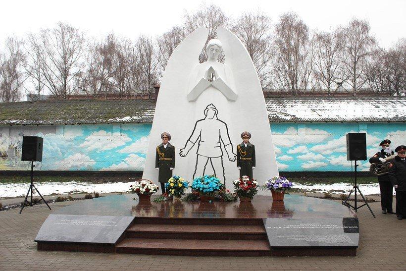 У Білій Церкві урочисто відкрили пам'ятний знак «Загиблим героям-пожежним»