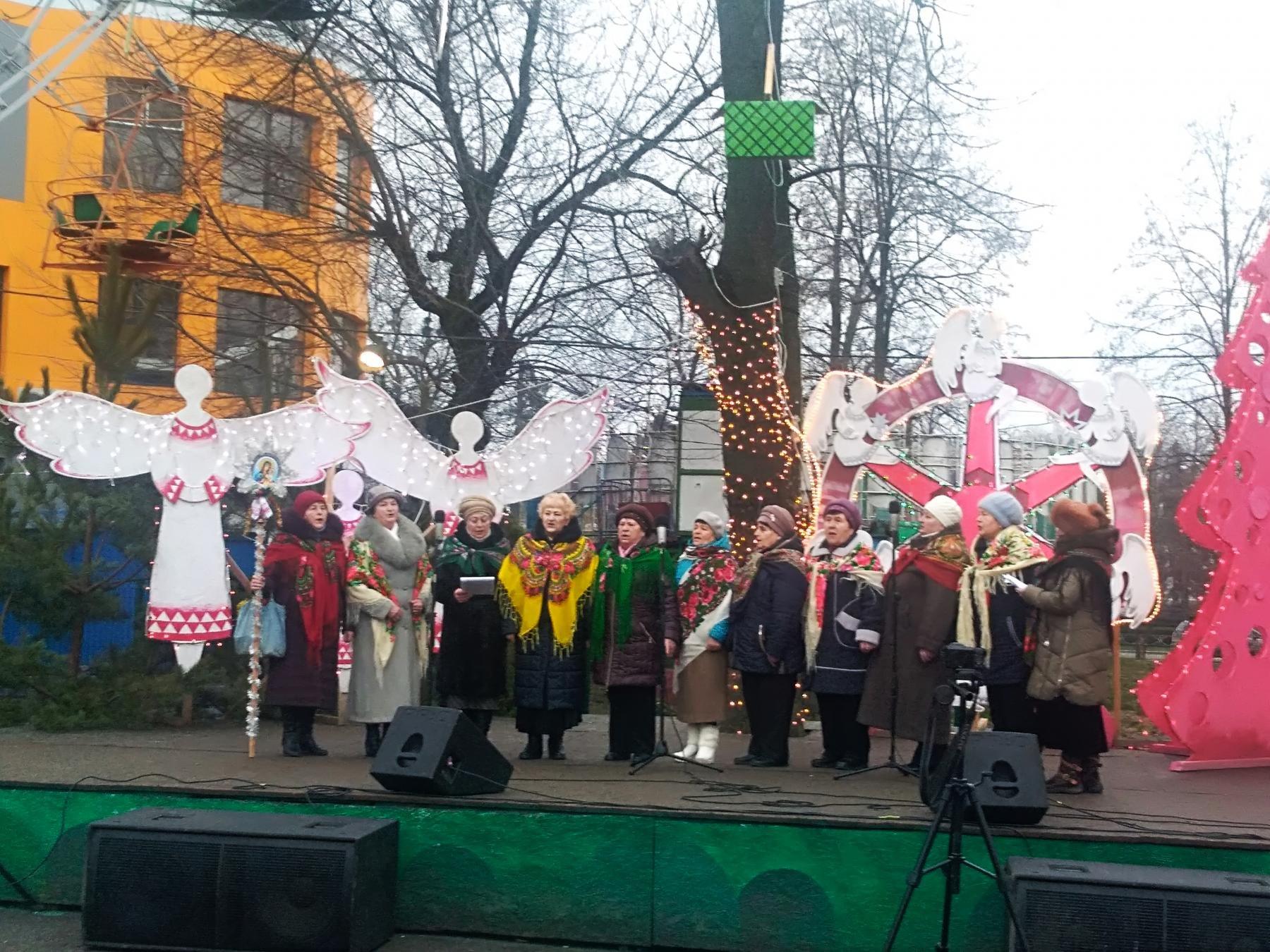 У Білій Церкві відбувся різдвяний фестиваль щедрівок та колядок