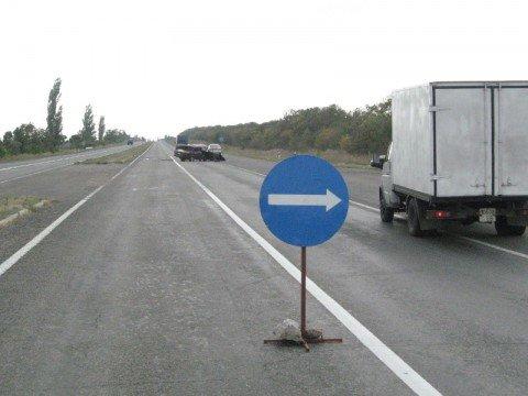 На трассе Мариуполь-Донецк перевернулась «семерка». Водитель авто погиб на месте (ФОТО), фото-1