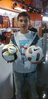 Молодой мариупольский футболист Андрей Тертов покажет свои навыки Арсену Венгеру, фото-1