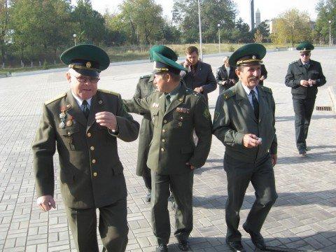 Сегодня российские пограничники нанесли дружеский визит в Мариуполь