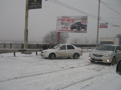 В Мариуполе непогода вызвала всплеск ДТП (ФОТО), фото-1