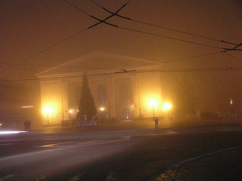 На этой неделе Мариуполь погрузился в туман