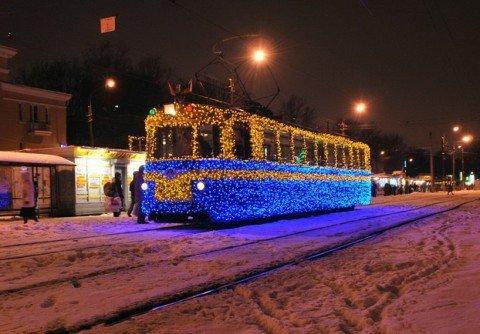 Уже через год мариупольцы смогут заказать персональный новогодний трамвай , фото-1