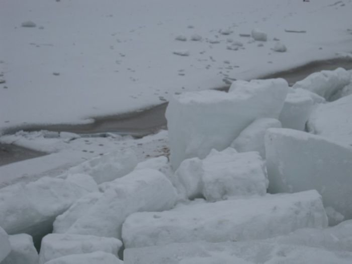 Азовское море покрылось ледяными торосами (ФОТО), фото-3