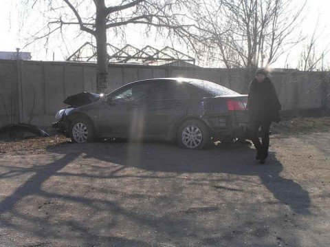В Мариуполе столкнулись «Mitsubishi» и «копейка». Пострадали два человека (ФОТО), фото-1