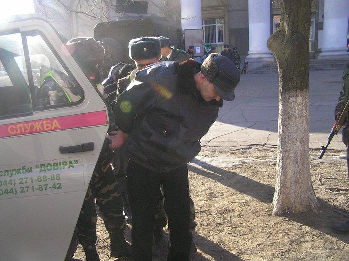 Донецкие пограничники отметили юбилей отряда показательным задержанием нарушителей (ФОТО), фото-3