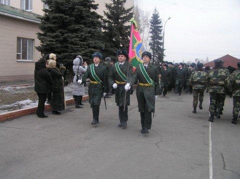 Сегодня в Донецком погранотряде  приняли присягу 9 военнослужащих - контрактников (ФОТО), фото-1