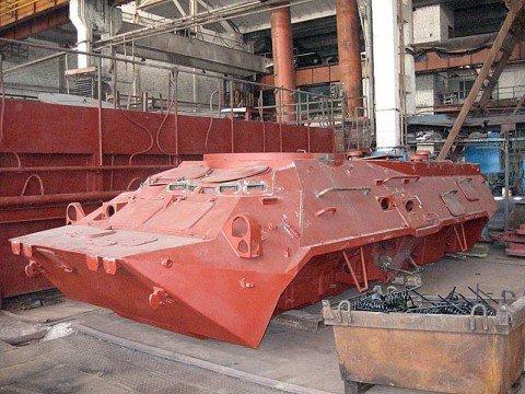 «Азовмаш» изготавливает бронетранспортеры для таинственного заказчика, фото-1