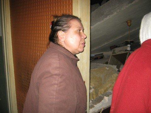В  результате взрыва пострадала квартира Анны Савченко
