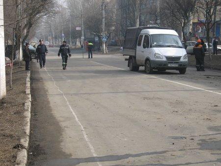 ГАИ ограничила движение транспорта на проспекте Строителей (ФОТО), фото-1