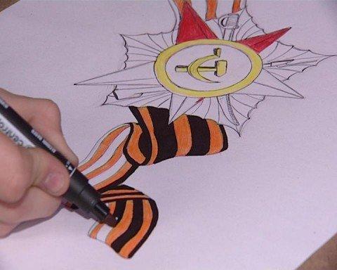 Маленьким мариупольцам предлагают нарисовать Победу (ФОТО), фото-1