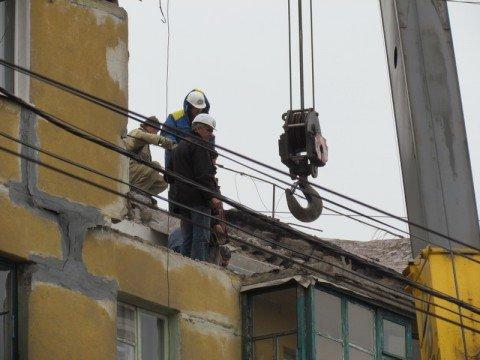 В Мариуполе практически завершен демонтаж взорвавшегося дома , фото-1