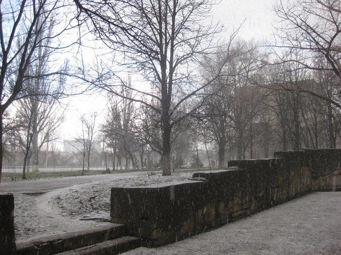 Фотофакт. На несколько минут в Мариуполь вернулась зима (ФОТО), фото-3