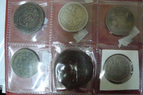 Донецкие пограничники задержали российского пенсионера, пытавшегося вывезти из Украины  коллекцию старинных монет (ФОТО), фото-1