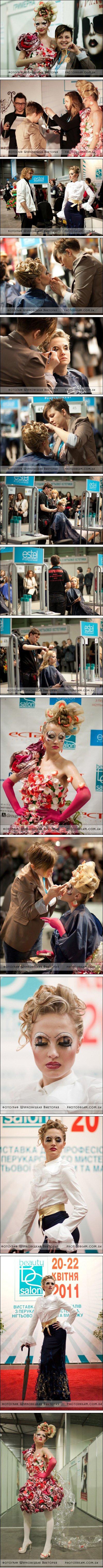 Победа мариупольчан на чемпионате Украины по парикмахерскому искусству и макияжу, фото-1