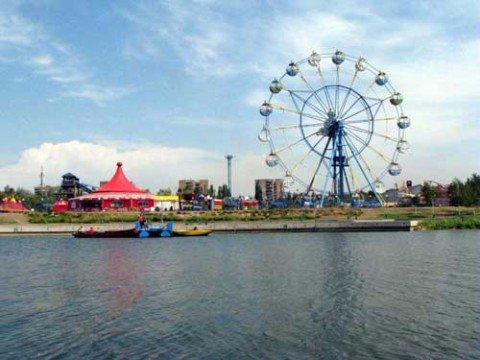 Мариупольский экстрим-парк открылся на Пасху, а к 1 мая запустит водные аттракционы, фото-1