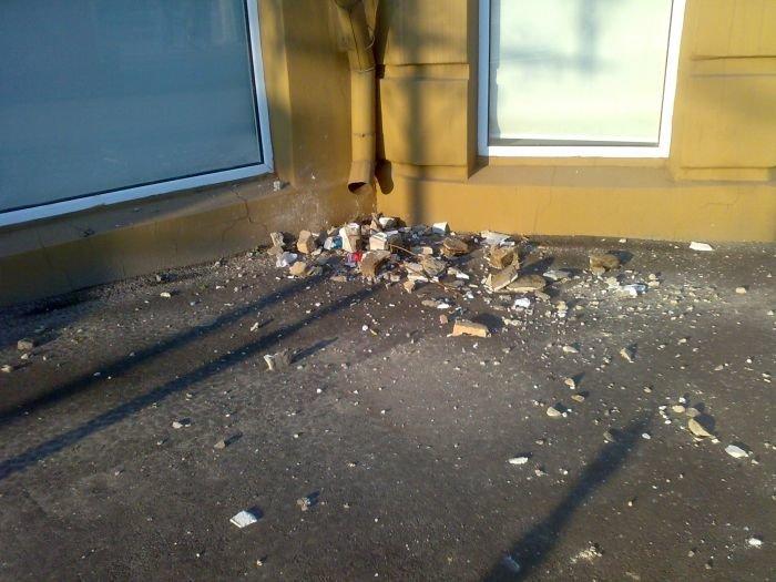 Знаменитый дом со шпилем в Мариуполе начал разрушаться (ФОТО), фото-2