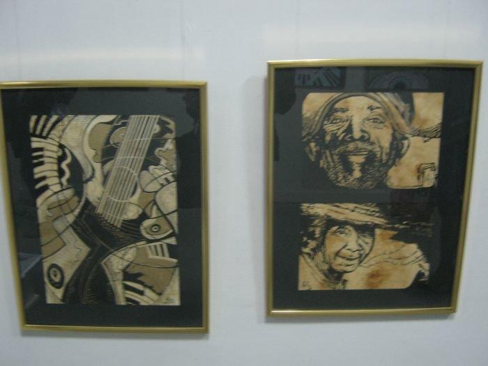 Киевляне предложили мариупольцам «услышать» джаз в картинах современных художников (ФОТО), фото-5