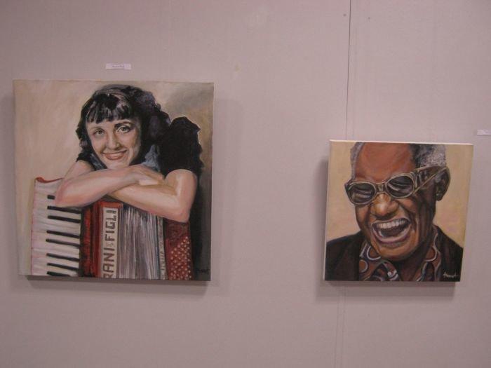 Киевляне предложили мариупольцам «услышать» джаз в картинах современных художников (ФОТО), фото-4