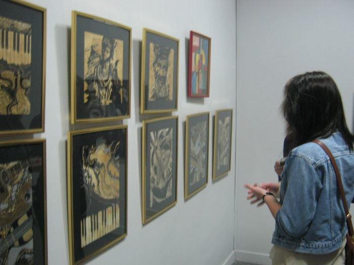 Киевляне предложили мариупольцам «услышать» джаз в картинах современных художников (ФОТО), фото-6