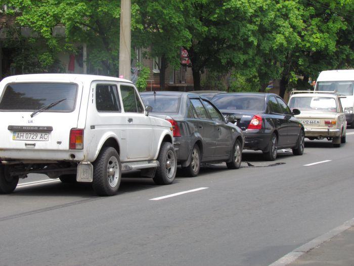 Четыре машины столкнулись в центре Мариуполя (ФОТО), фото-4