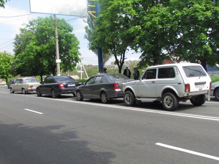 Четыре машины столкнулись в центре Мариуполя (ФОТО), фото-3