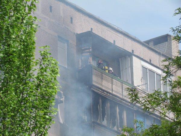 В Мариуполе горит многоэтажный дом (Добавлены ФОТО, ВИДЕО), фото-1
