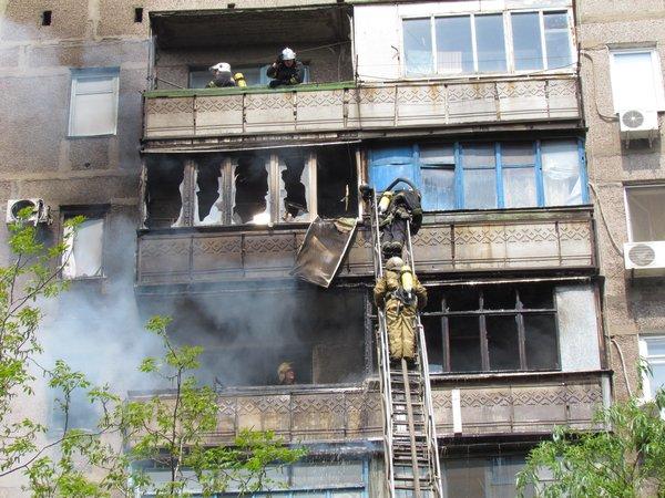 В Мариуполе горит многоэтажный дом (Добавлены ФОТО, ВИДЕО), фото-6