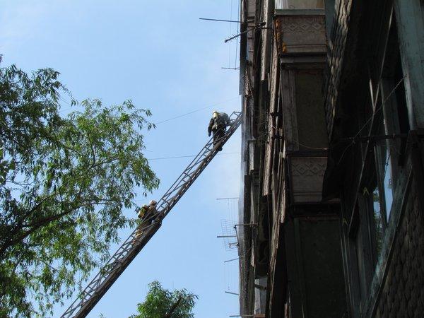 В Мариуполе горит многоэтажный дом (Добавлены ФОТО, ВИДЕО), фото-12
