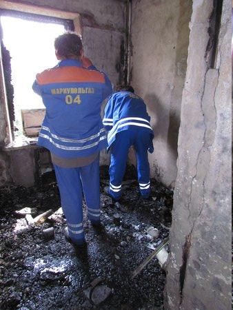 В Мариуполе горит многоэтажный дом (Добавлены ФОТО, ВИДЕО), фото-24
