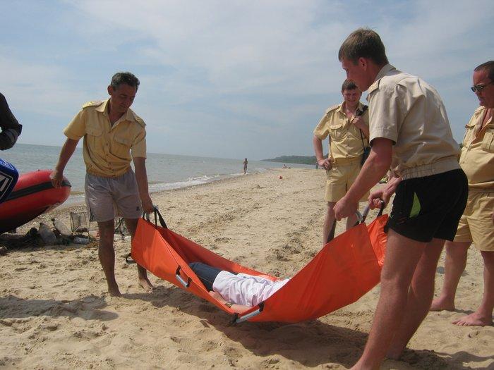 На пляжах Мариуполя спасать утопающих будут по 12 часов в день (ФОТО), фото-8