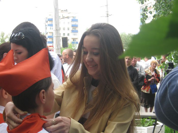 В Мариуполе впервые за 20  лет Независимости  принимали в пионеры (ФОТО), фото-4