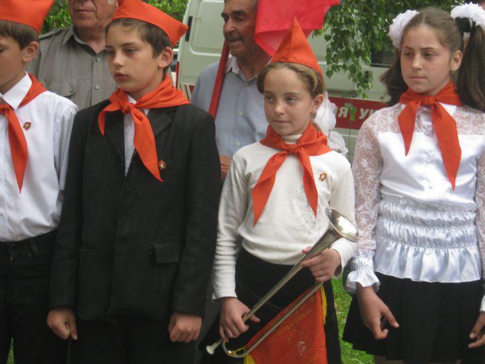 В Мариуполе впервые за 20  лет Независимости  принимали в пионеры (ФОТО), фото-6