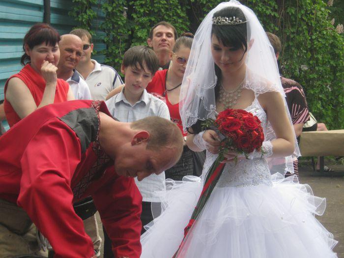 В Мариуполе  кузнец выковал счастье для молодоженов (ФОТО), фото-8