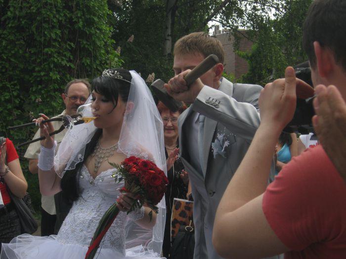 В Мариуполе  кузнец выковал счастье для молодоженов (ФОТО), фото-9