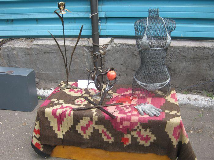 В Мариуполе  кузнец выковал счастье для молодоженов (ФОТО), фото-10