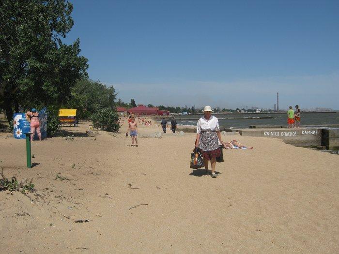 Отдыхающие на морском побережье в Мариуполе ничего не слышали о холере (ФОТО), фото-10
