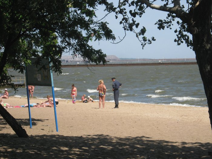 Отдыхающие на морском побережье в Мариуполе ничего не слышали о холере (ФОТО), фото-6