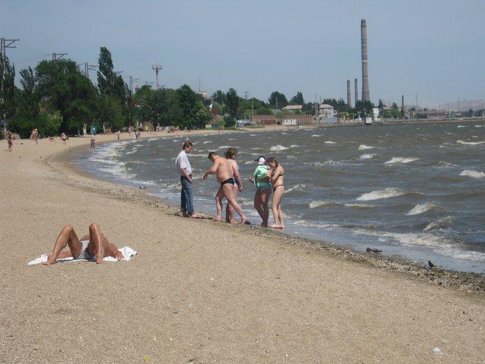 Отдыхающие на морском побережье в Мариуполе ничего не слышали о холере (ФОТО), фото-4