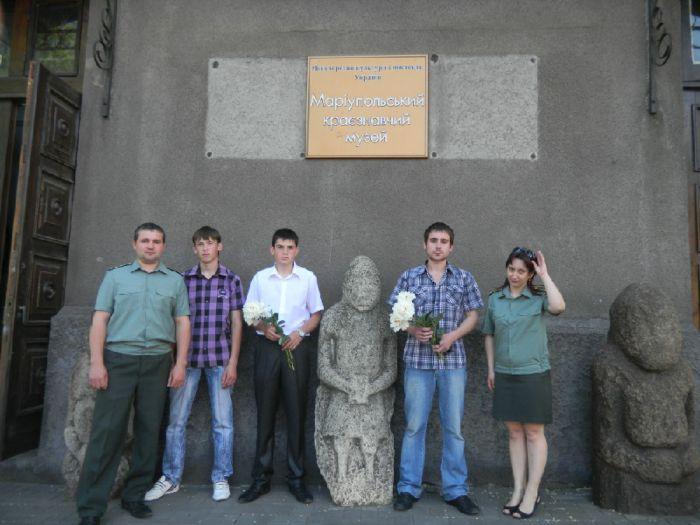 Мариупольских трудных подростков «окультуривали» в музее (ФОТО), фото-3