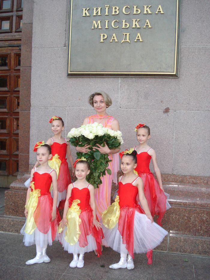 Мариупольская школа классической хореографии Елены Берковой выступила на балу , фото-1