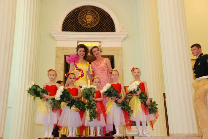 Мариупольская школа классической хореографии Елены Берковой выступила на балу , фото-4