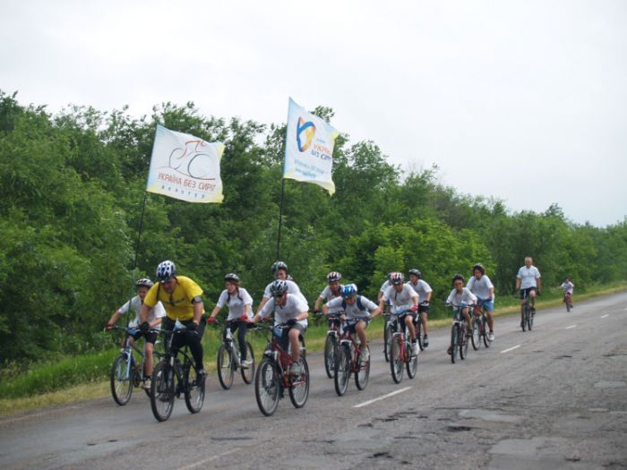 Из Мариуполя стартовал велотур «Украине без сирот» (ФОТО), фото-3