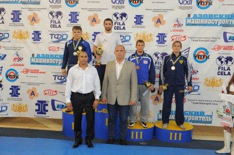Международный «Кубок «Азовмаша» определил сильнейших борцов , фото-1