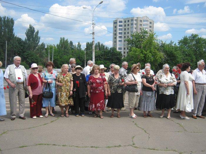В 70-ю годовщину начала Великой Отечественной войны в Мариуполе почтили память погибших (ФОТО), фото-2