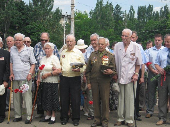 В 70-ю годовщину начала Великой Отечественной войны в Мариуполе почтили память погибших (ФОТО), фото-5