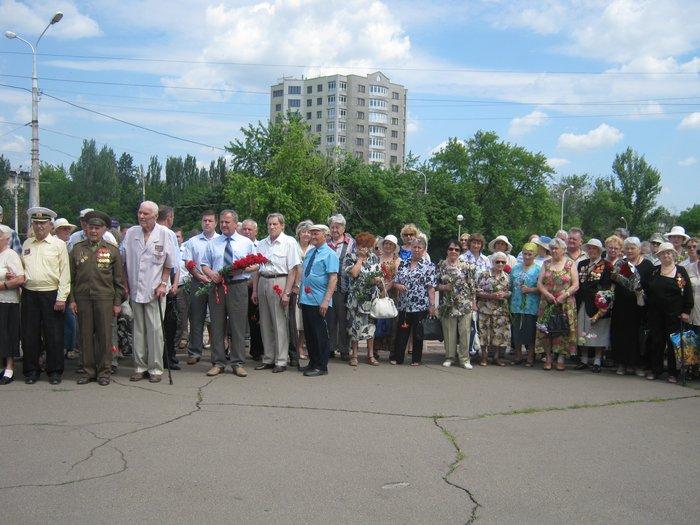 В 70-ю годовщину начала Великой Отечественной войны в Мариуполе почтили память погибших (ФОТО), фото-7